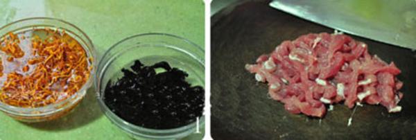 Đông trùng hạ thảo hầm mộc nhĩ