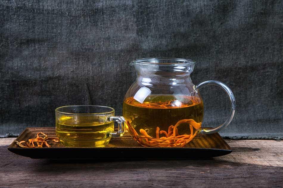Hướng dẫn sử dụng đông trùng hạ thảo pha trà