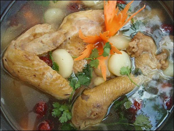 Công dụng của đông trùng hạ thảo hầm cánh gà