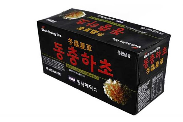Tác dụng của đông trùng hạ thảo dạng nước Hàn Quốc